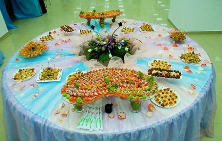 Блюда на шведский стол фото