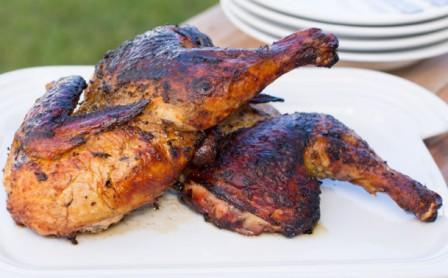 Курица сметана запекать