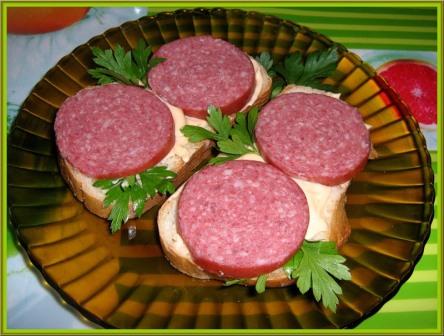 Украшение и оформление бутербродов с