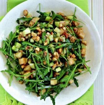 салат легкий из руколы рецепт